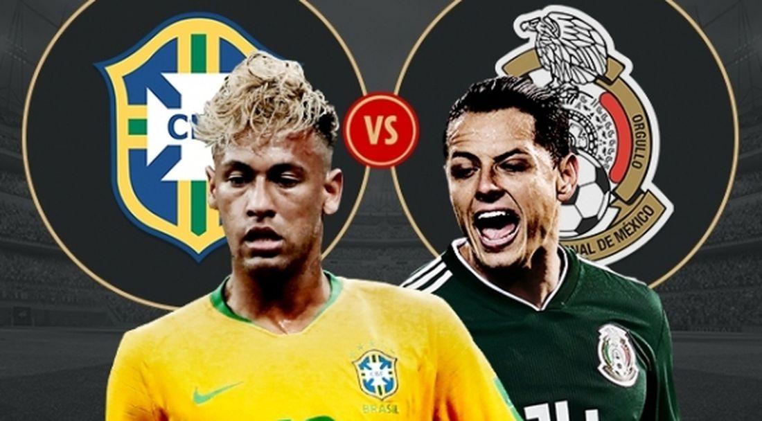 Мексико се кани да вземе скалпа на още един фаворит в лицето на Бразилия