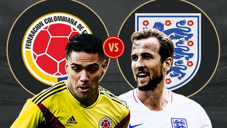Англия vs. Колумбия - зрелището е гарантирано