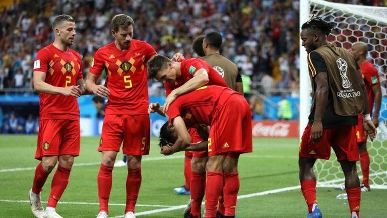 Победата на Белгия над Япония е едва седмият обрат от два гола пасив в историята на световните, България също е част от историята