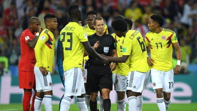 200 000 подписаха петиция за преиграване на Англия - Колумбия