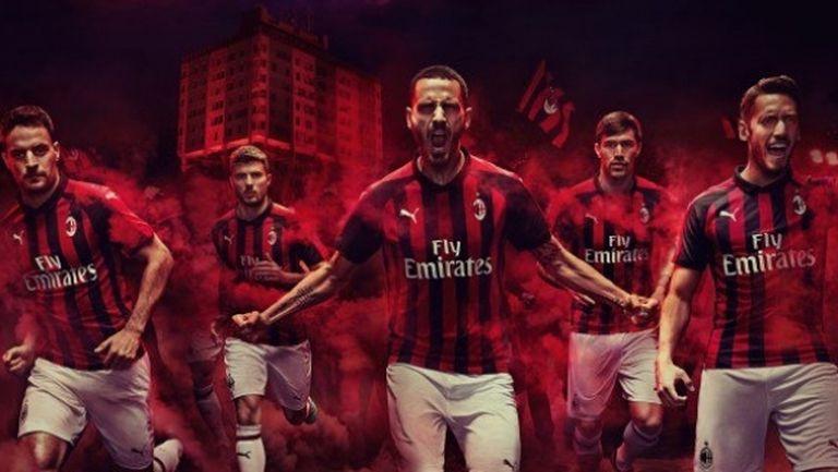 Милан представи новите си екипи (видео)