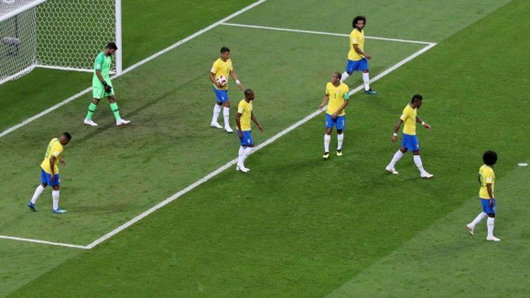 Бразилия на Тите за първи път се пропука два пъти и това се оказа фатално