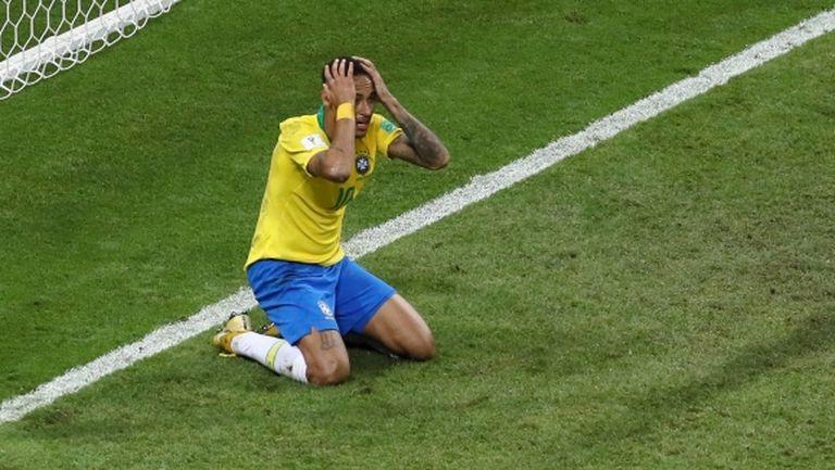 В Бразилия обвиняват Неймар за отпадането