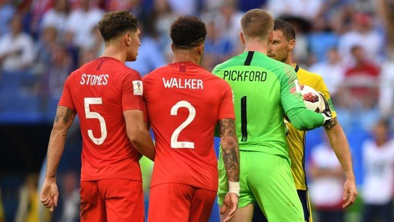 """Неочакван """"Играч на мача"""" на Швеция - Англия"""