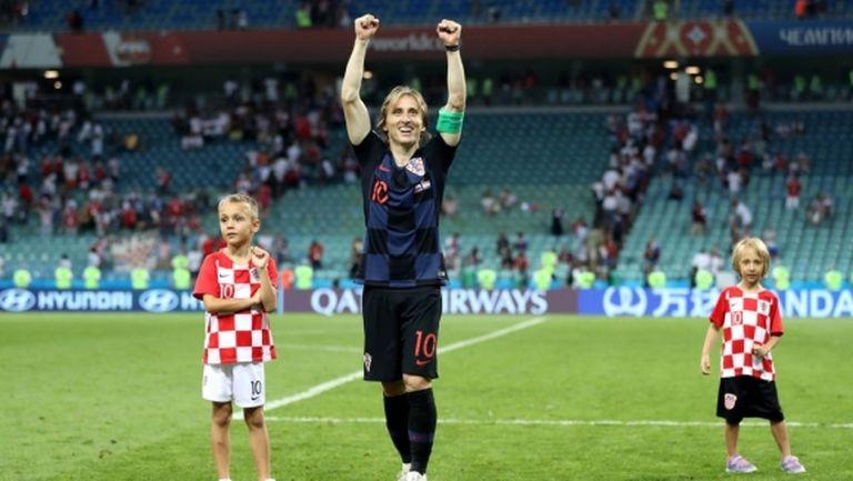 Поставиха Модрич над всички на Русия - Хърватия