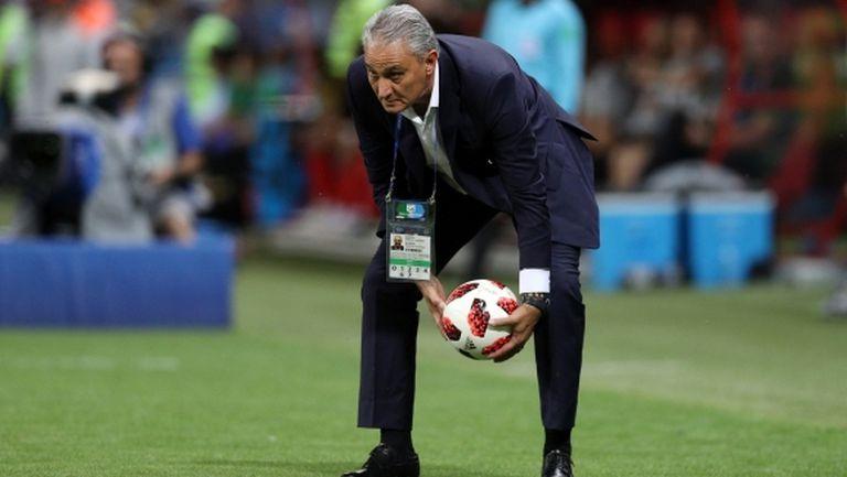 Тите все още не е решил дали ще продължи да води Бразилия