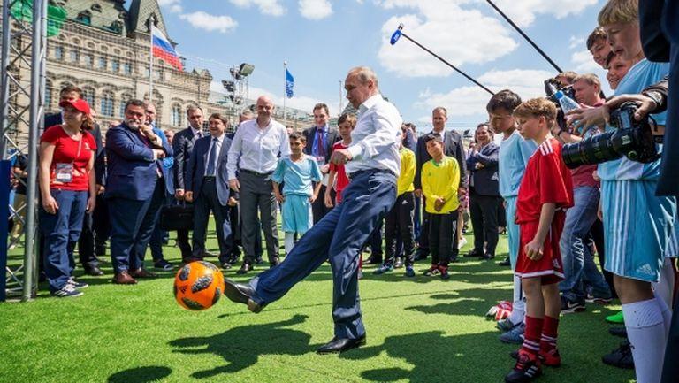 Путин е горд от представянето Русия на Мондиал 2018