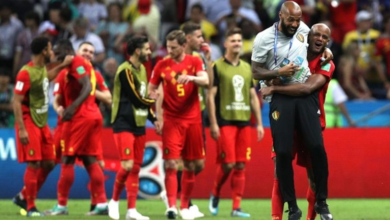 Добра поличба за Белгия преди 1/2-финала с Франция