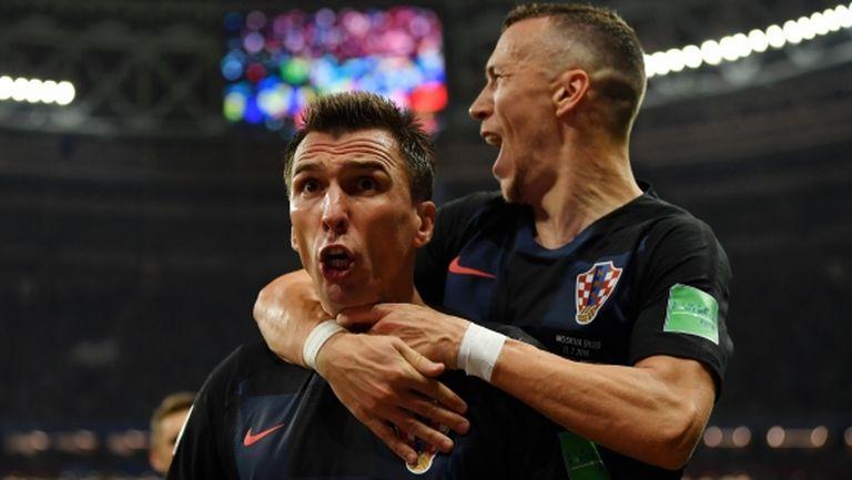 Хърватия е на исторически финал след нови 120 минути и обрат срещу Англия (видео)