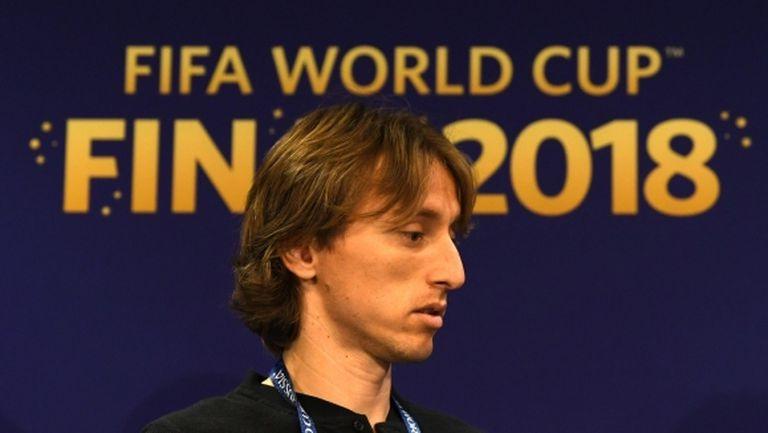 """Модрич: """"Златната топка"""" не ме интересува, важна е единствено титлата"""