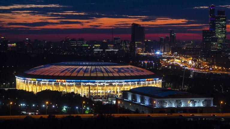 Жега в Москва за финала на Мондиал 2018