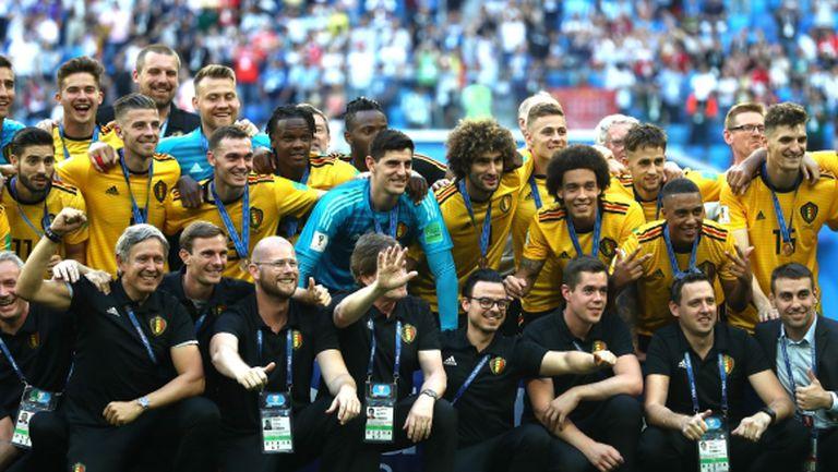 Белгия заслужи бронза и най-доброто си класиране на световно първенство след нова победа над Англия (видео)