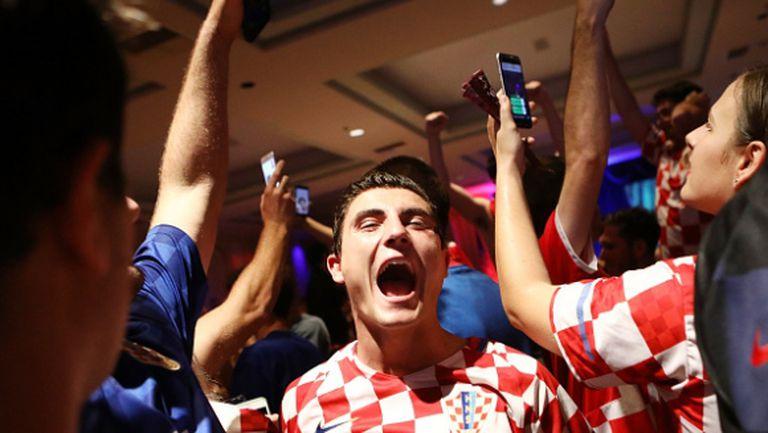 В Хърватия цари еуфория преди финала