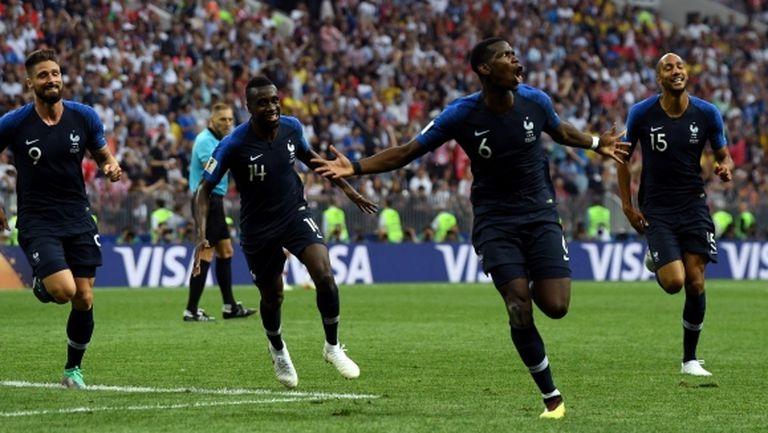 Франция и Хърватия изиграха най-резултатния финал от 52 години