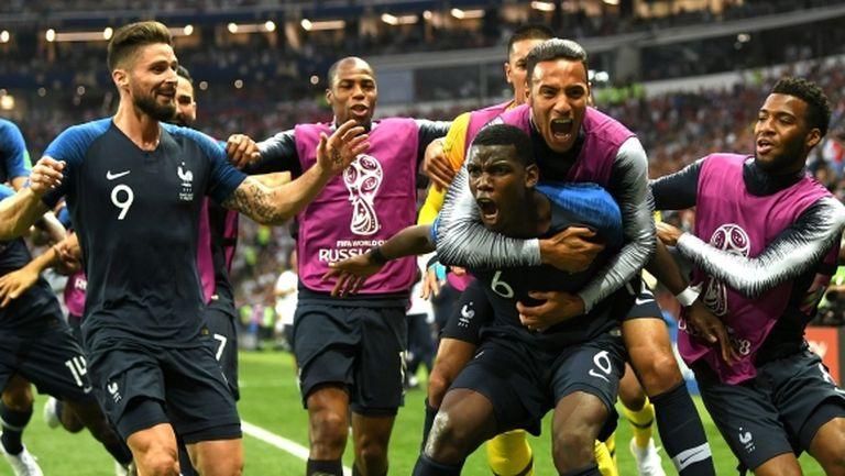 Франция с рекорд на Мондиал`2018