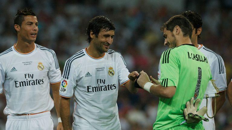 Раул към Роналдо: За мен беше чест да играя с теб, легендо!