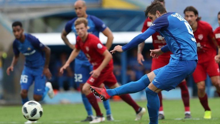 Рекорден брой изпуснати дузпи от Левски на Роси