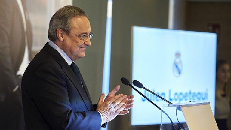 Флорентино обеща: Отборът ще бъде подсилен с фантастични футболисти