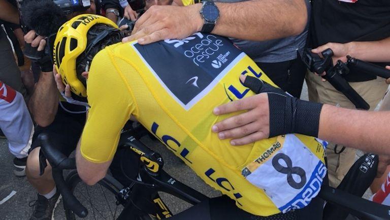 Втори пореден етапен успех за Томас в Тур дьо Франс
