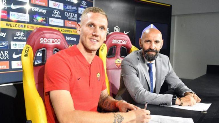 Официално: Рома обяви привличането на Олсен