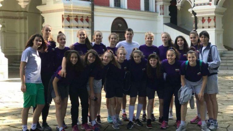 Националките U16 заминаха за Балканиадата в Сърбия