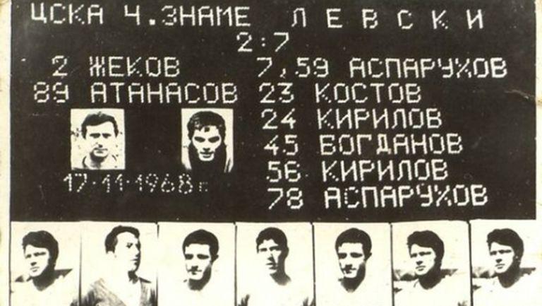"""Старото табло на """"Васил Левски"""" ще светне в чест на Гунди"""