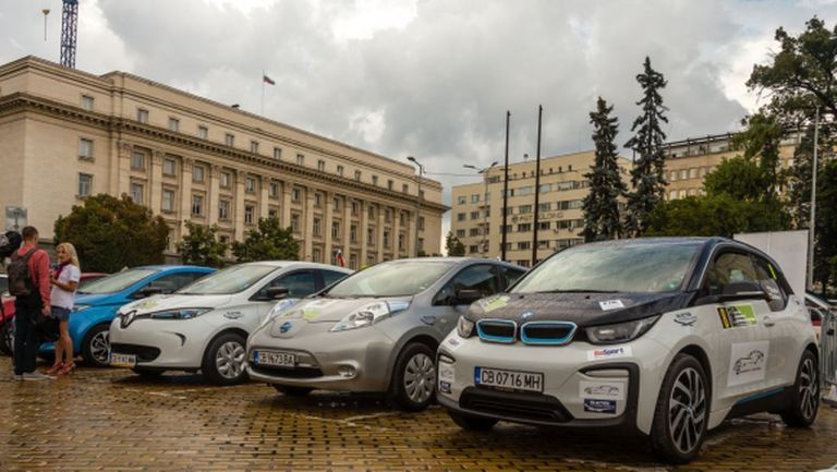 Рекордни 17 електромобила на старта на Еко Рали България 2018
