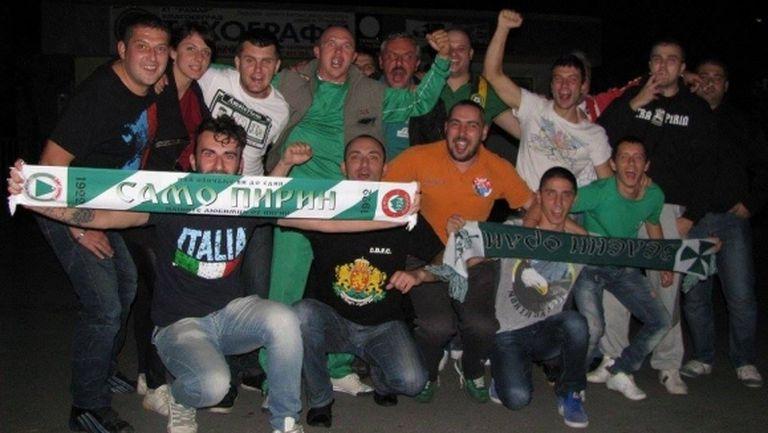 Истинското лице на футбола: феновете на Пирин и Добруджа се събират заедно, за да дадат старт на сезона във Втора лига
