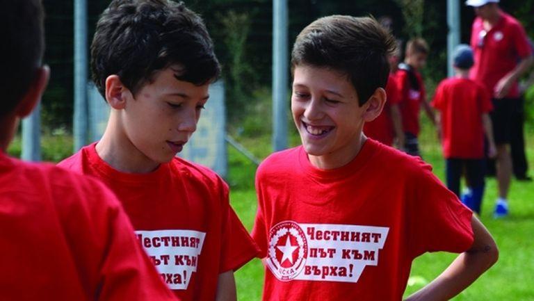 ЦСКА 1948 проведе най-масовия кастинг за деца в историята на българския футбол (видео)