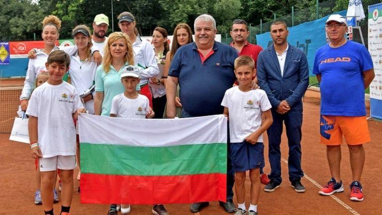 В Русе откриха Европейската лятна купа по тенис за девойки