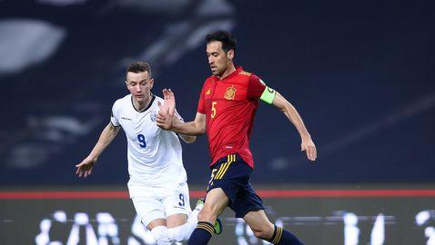 Испания без Бускетс в първите две срещи?