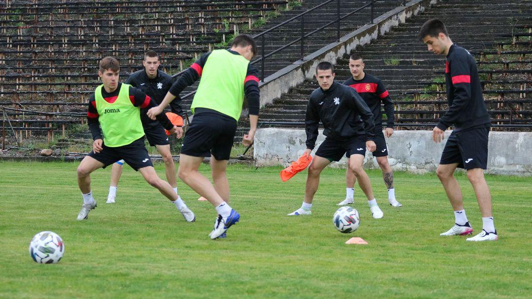 Младежите на България проведоха официална тренировка преди контролата с Албания