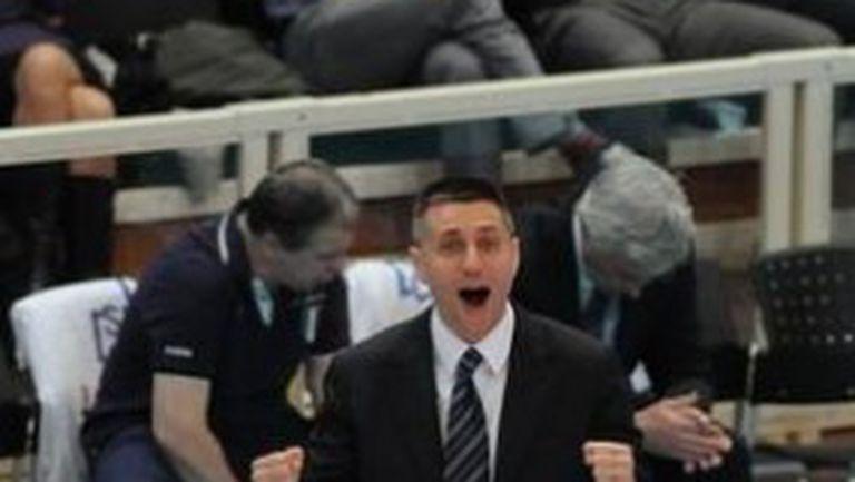 Радостин Стойчев: Винаги трябва да играем с цялата си душа както срещу Кунео