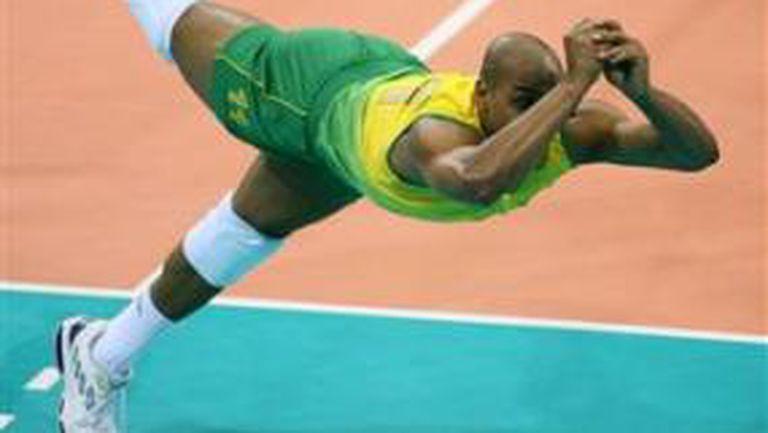Олимпийските шампиони от Бразилия се справиха със Сърбия без Жиба