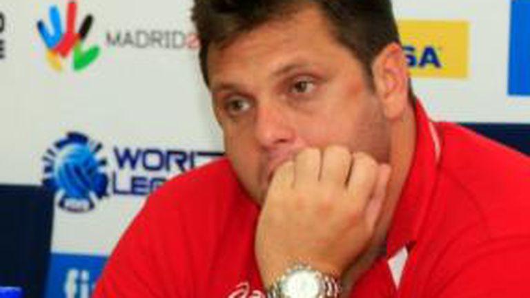 Мартин Стоев: Това бе най-слабият ни мач