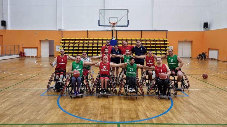 Националният отбор по баскетбол на колички готов и мотивиран за международния турнир в Барселона