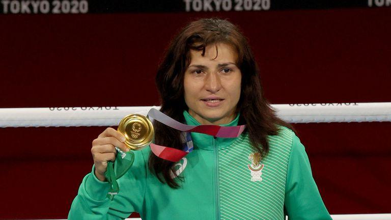 Стойка Кръстева получи своя златен медал в Токио 2020 🥇