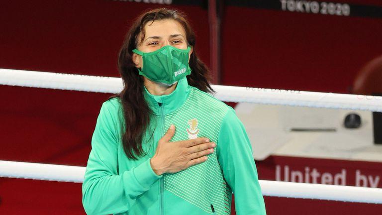 Председателят на парламента Ива Митева изпрати поздравителен адрес до олимпийската шампионка по бокс Стойка Кръстева