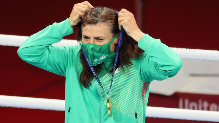 Румен Радев поздрави Стойка Кръстева за златния медал