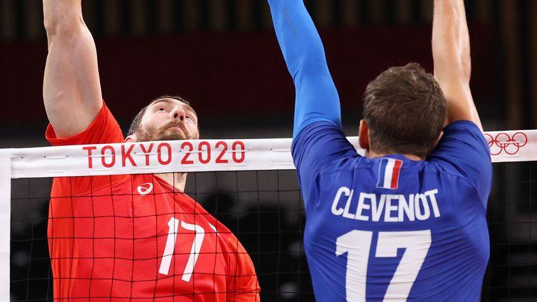 Волейболният финал: Франция - РОК
