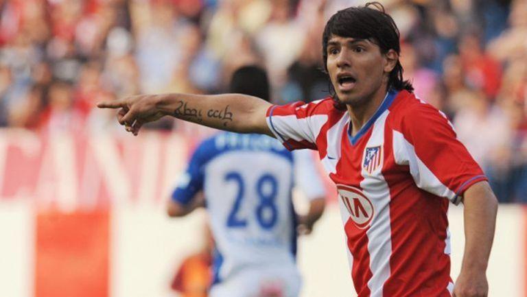 10 години по-късно: Агуеро се извини на Атлетико