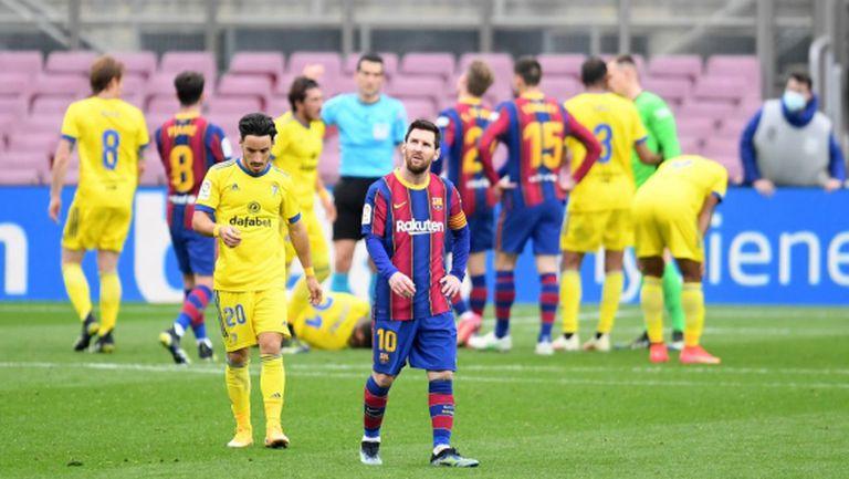 Серията на Барселона в Ла Лига свърши с поредната груба грешка на Лангле (видео)
