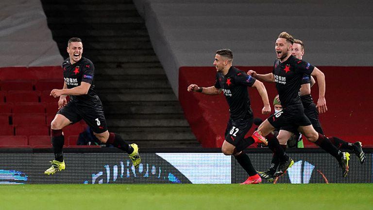 Арсенал - Славия (Прага) 1:1