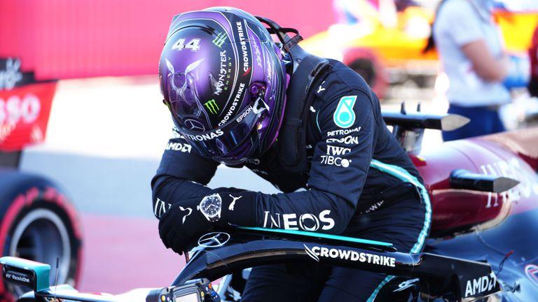 Хамилтън спечели полпозишън номер 100 в квалификацията за Гран При на Испания