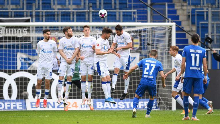 Хофенхайм съсипа Шалке с 4 гола за 17 минути