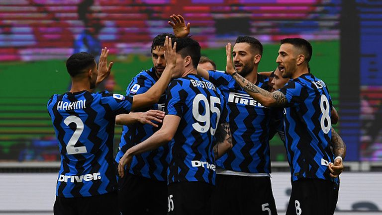 Интер показа защо е новият шампион, разгромявайки Сампдория