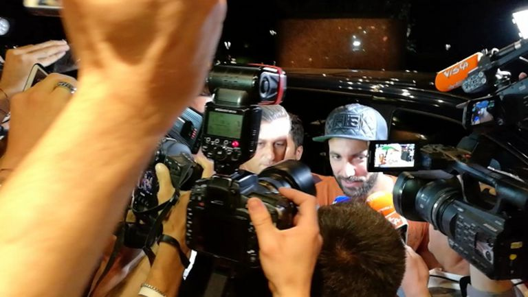 Игуаин пристигна в Милано и си пожела: Дано стигнем далеч!
