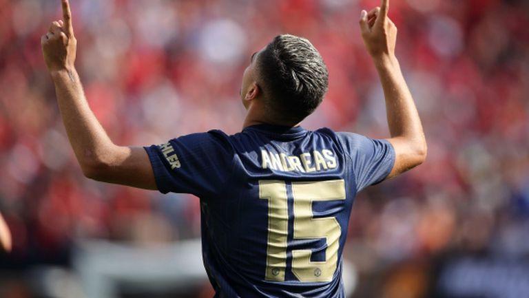 Андреас Перейра остава в Манчестър Юнайтед
