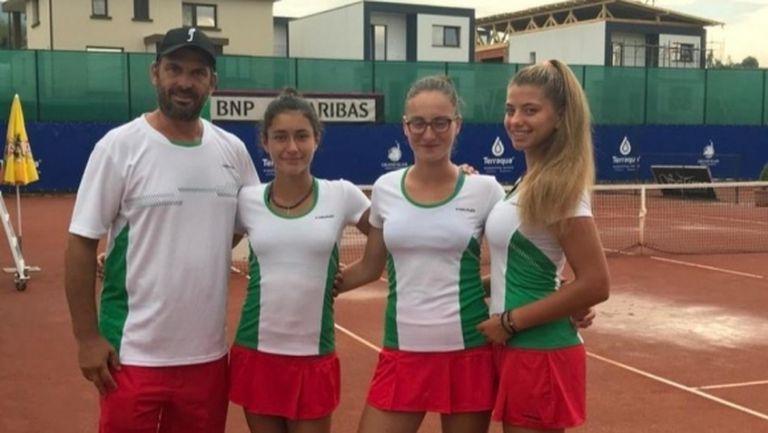 Девойките изпуснаха Словакия на Европейската лятна купа