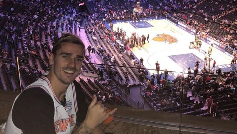 Гризман се надиграва с НБА звезда в Маями